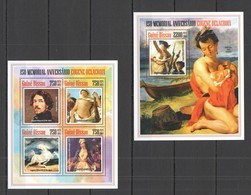 ST1258 2013 GUINE GUINEA-BISSAU ART PAINTINGS ANINIVERSARY EUGENE DELACROIX KB+BL MNH - Andere