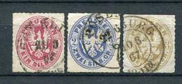 Preussen Nr.16/8          O  Used               (017) - Pruisen