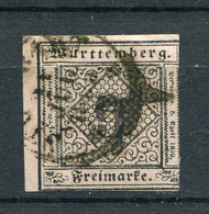 Würtemberg Nr.4          O  Used               (256) - Wurttemberg