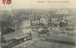 CPA Alençon La Place D'ames La Foire Chandeleur - Alencon