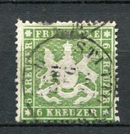 Würtemberg Nr.18 Y          O  Used               (267) - Wurttemberg