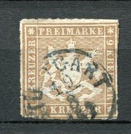 Würtemberg Nr.33 B          O  Used               (271) - Wurttemberg