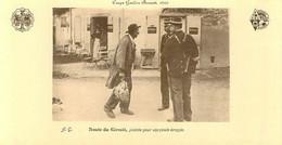 COUPE GORDON BENNETT - 1905 - ROUTE DU CIRCUIT - PLAINTE POUR UNE POULE ECRASEE - CPSM De L'AUTOMOBILE Club D' AUVERGNE - Non Classificati