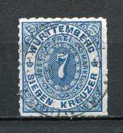 Würtemberg Nr.39          O  Used               (283) - Wurttemberg