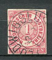 Norddeutscher Postbezirk Nr.4          O  Used               (011) LUDWIGSLUST - Norddeutscher Postbezirk
