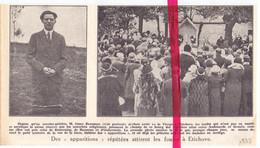 Orig. Knipsel Coupure Tijdschrift Magazine - Etikhove - Verschijning Maagd Maria - Apparitions De La Vierge - 1933 - Non Classés