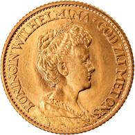 Monnaie, Pays-Bas, Wilhelmina I, 10 Gulden, 1913, TTB+, Or, KM:149 - 10 Gulden