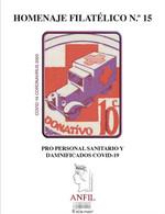 ¡NOVEDAD! ESPAÑA SPAIN 2020 HOMENAJE FILATÉLICO 15 EDIFIL PRO PERSONAL SANITARIO COVID-19 CORONAVIRUS - 2011-... Unused Stamps