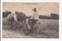 CP LA NORMANDIE ILLUSTREE La Récolte Du Blé - Landbouwers