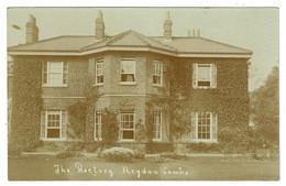 Ref 1422 - Early Real Photo Postcard - The Rectory Heydon - Cambridgeshire - Otros