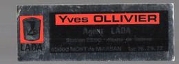 Mont De Marsan (40 Landes) (automobile : Garage) Autocollant Yves OLLIVIER AGENT LADA  (PPP26013) - Stickers