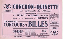BON BUVARD CONCHON-QUINETTE, LIMOGES  - 036 - Unclassified