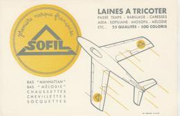 BON BUVARD Laines à Tricoter SOFIL  - 038 - Unclassified