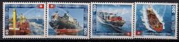 2016 Schweiz Mi. 2427-0 **MNH  75 Jahre Schweizer Handelsflotte. - Ungebraucht