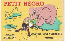BON BUVARD PETIT NEGRO, Illustrateur J. Berger, éléphant - 044 - Unclassified
