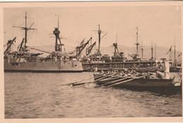 N°7932 R -cpa Toulon -la Petite Rade- - Warships