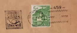 """Lettre """"Zeitungsdrucksache Aff 5+3 Rpf Kaub ʘ Sieger Lorch 17.05.1942->Basel - Zensur /Censored/Censure E - Storia Postale"""