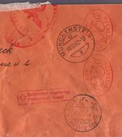 "Lettre "" Electra Birseck"" EMA ʘ Münchenstein 18.03.1942->St Ludwig (Alsace) - Zensur /Censored/Censure E + ʘ Douane - Covers & Documents"