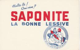 BON BUVARD  LESSIVE SAPONITE  - 051 - Unclassified