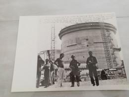 21081 PHOTO DE PRESSE   24CMX18CM  METZ LE 6-8-1981 NUCLEAIRE  DE CATTENOM - Unclassified
