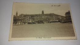 CARTE MONS PLACE LEOPOLD 1937 - Altri