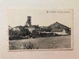 Carte Postale Ancienne  QUAREGNON Charbonnage Du Rieu-du-Coeur - Quaregnon