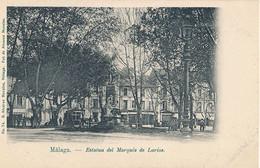 MALAGA - N° 74 - ESTATUA DEL MARQUES DE LARIOS - Málaga