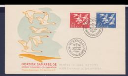 Sweden  FDC 1956 NORDEN (DD9-49) - FDC