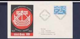 Finland FDC 1969 NORDEN (DD9-49) - FDC