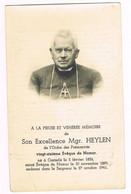 Casterlé ( Kasterlee ) - Bidprentje Van Mgr Heylen - Bisschoep Van Namen   + 1941 - Unclassified