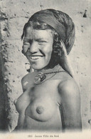 CARTE POSTALE ORIGINALE ANCIENNE : JEUNE FILLE DU SUD ARABE SEINS NUS  PIN UP SEXY ET EROTIC - Femmes