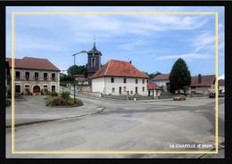 25  La  CHAPELLE  D' HUIN  ..  ....  Vue D'ensemble Mairie Et Eglise - Other Municipalities