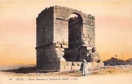 Algerije   Algérie Setif Ruines Romaines Et Tombeau De Scipion      M 5858 - Setif