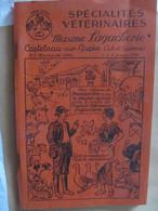 CATALOGUE  VETERINAIRE - MAXIME LAGACHERIE à CASTELNAU SUR GUPIE - EDITION 1953 - Animaux