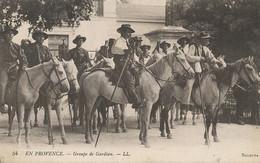 Groupe De Gardians à Cheval. Camargue .  Provence  Envoi Aux Cycles Cavagna Pontchara Sur Breda - Landbouwers