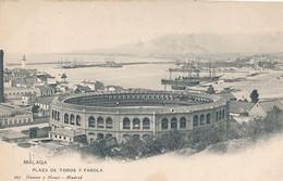 MALAGA - N° 263 - PLAZA DE TOROS Y FAROLA - Málaga