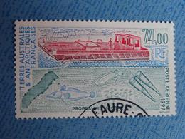T.A.A.F.- BATEAUX -  Timbre Oblitéré Poste Aérienne N° 144 Des T.A.A.F - Oblitérés