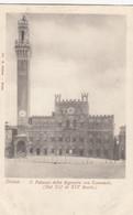 SIENA-IL PALAZZO DELLA SIGNORIA-CARTOLINA NON VIAGGIATA -1900-1904 - Siena