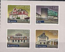 2017 Schweiz Mi. 2505-8 **MNH  Schweizer Bahnhöfe - Unused Stamps