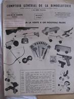 CATALOGUE - COMPTOIR GENERAL DE LA BIMBELOTERIE - MARS 1962 - JOUETS - BIBELOTS - Palour Games