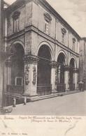 SIENA-LOGGIA DEI MERCANTI-CARTOLINA NON VIAGGIATA -1900-1904 - Siena