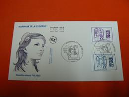 D233 / ENVELOPPE 1ER JOUR / MARIANNE ET LA JEUNESSE - Collections