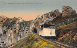 LOURDES (65) CPA ±1910 - Chemin De Fer - Le Funiculaire Du Pic Du JER Conçu Par L'ingénieur Chambrelent (õ‿õ) ♥ - Lourdes