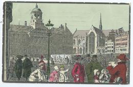Amsterdam - Teekeningen A. Ost - Uitgave W. De Haan, Utrecht No10 - Amsterdam
