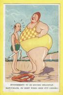 * Fantaisie - Fantasy (humour - Humor) * (Colorprint 420) Amour, Love, Bikini, évidemment Tu Es Encore Dégonflé, Plage - Humor