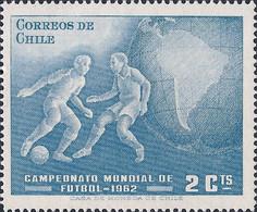 CHILI -  Championnats Du Monde De Football, Chili 1962 - 1962 – Chili
