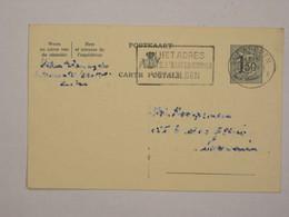 Belgique Entier 155 D'Antwerpen Pour Leuven - Postcards [1951-..]
