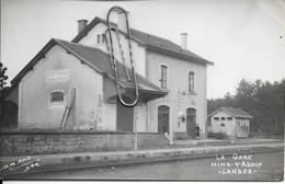PHOTO HINX-SUR-ADOUR LA GARE - Treinen