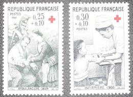 France - Yvert N°1508-1509 Neuf * - Zonder Classificatie