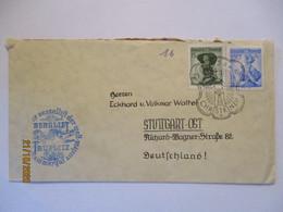 Weihnachten Christkindl Bedarfsbrief 1956, Berglift Zauplitz (57513) - Cristianismo